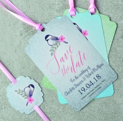 Little Bird save the dates