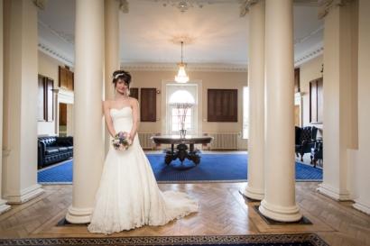 Wedding dress by VVB