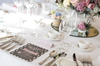 table layout for your wedding