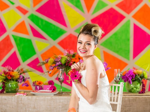 Neon Wedding by My Wedding Professionals