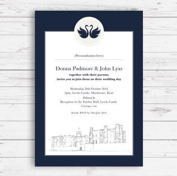 Venue Swan invite