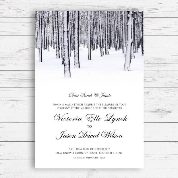 Winter invite