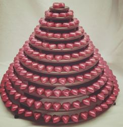 pink choc tower