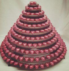 pink choc tower